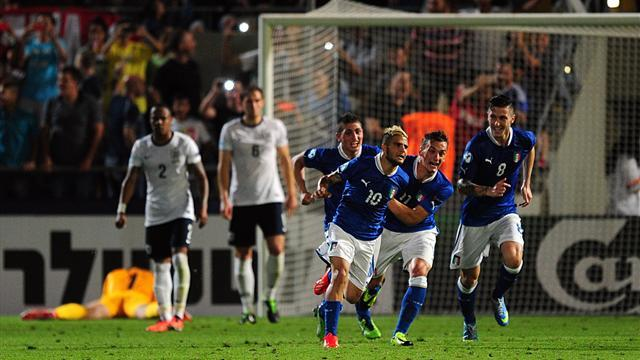 Euro U21 - Insigne strike downs disappointing England