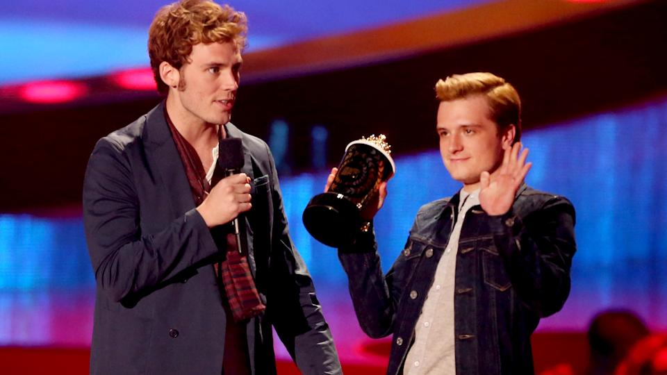 Josh Hutcherson, Jlaw, Catching Fire Win Big at MTV Movie Awards 2014