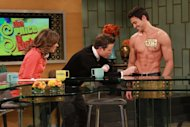 'The Price Is Right's' First male model Rob Wilson goes shirtless on Access Hollywood Live on October 11, 2012 -- Access Hollywood