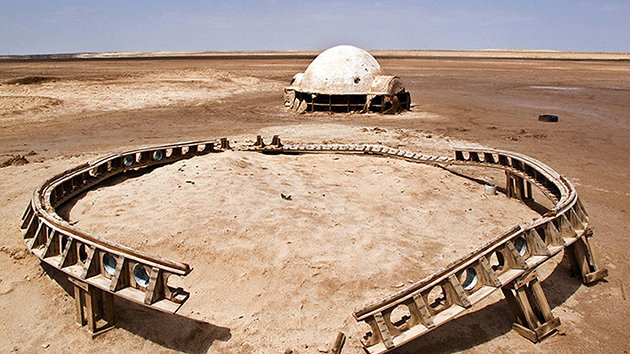 Tatooine film set today, 'Star Wars'