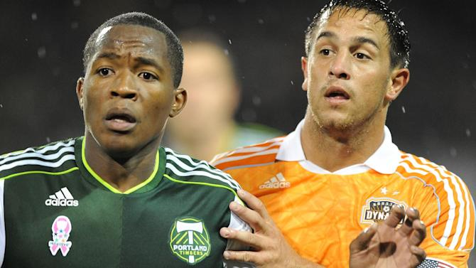 Soccer - MLS - Portland Timbers vs Houston Dynamo - Jeld-Wen Field. Portland Oregon