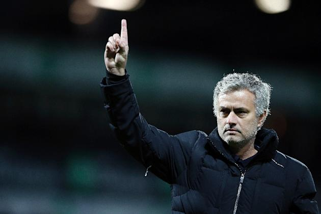 Chelsea manager Jose Mourinho's attempt to stop his players following Manchester City's game against Liverpool prior to their League Cup final encounter with Tottenham were thwarted by excitab
