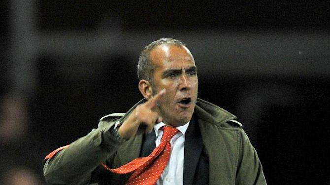 Paolo Di Canio, pictured, has buried the hatchet with Wes Foderingham