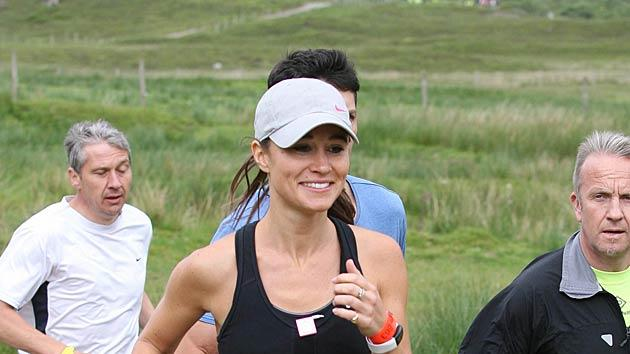 Pippa Middleton Highland Cross Race