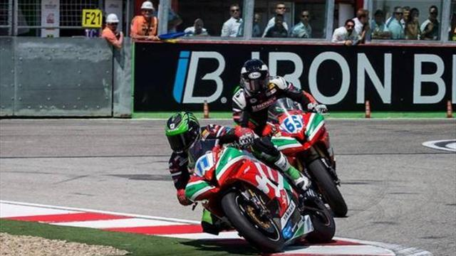 Superbikes - Imola WSBK: Lucky Lowes happy with a podium finish