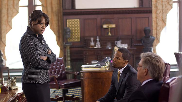 Law Abiding Citizen Production Photos Overture Films 2009 Viola Davis Jamie Foxx Bruce McGill