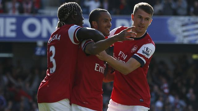 Premier League - Quickfire Walcott gives lukewarm Arsenal win at QPR