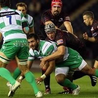 Treviso claimed their first away win of the season at Edinburgh