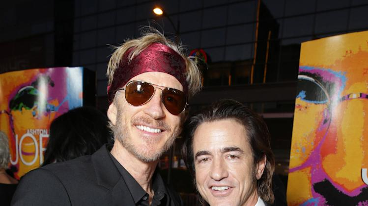 IMAGE DISTRIBUTED FOR OPEN ROAD - Matthew Modine and Dermot Mulroney seen at the Special Los Angeles Screening of Open Road and Five Star Feature Films 'JOBS' on Tuesday, Aug. 13, 2013 in Los Angeles. (Photo by Eric Charbonneau/Invision for Open Road/AP Images)