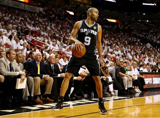 Tony Parker of the San Antonio Spurs who has spent his whole NBA career at the Texas franchise, is the 114th player to join the 1,000 game club