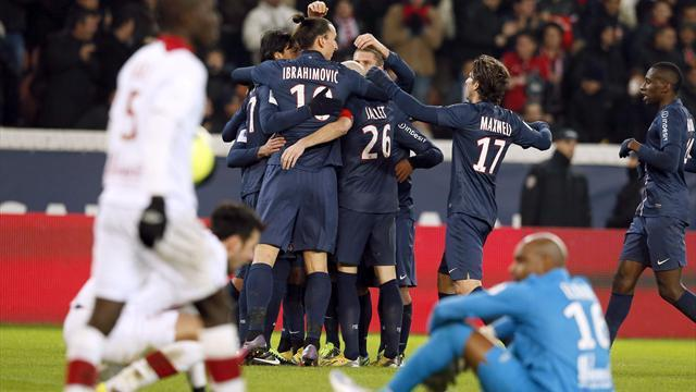 Ligue 1 - Record for keeper Sirigu as lucky PSG go top