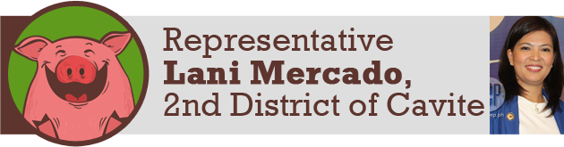 Representative Lani Mercado, 2nd District of Cavite