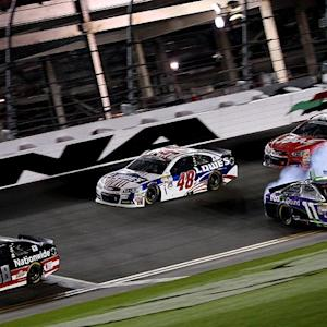 Ride along with drivers during Daytona wreck