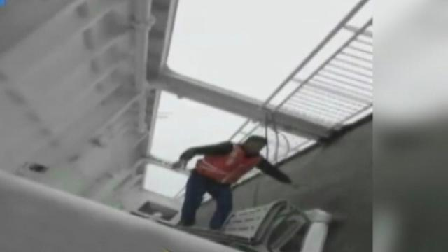 Video Shows Panic Inside Doomed Ferry