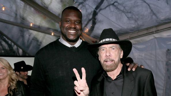 Shaquille O'Neal and John Paul DeJoria