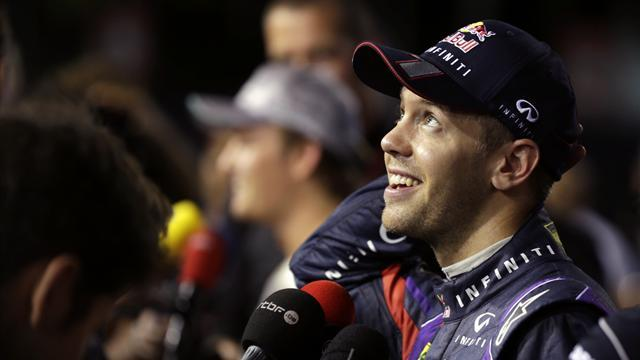 Singapore GP - Vettel admits to pole tactic nerves