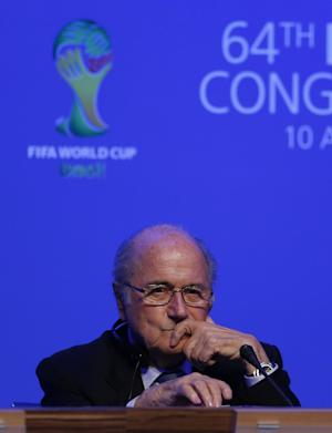 Blatter coy on FIFA presidential re-election bid