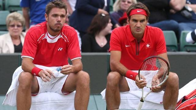 Tennis - Federer to join Wawrinka in Swiss Davis Cup quest