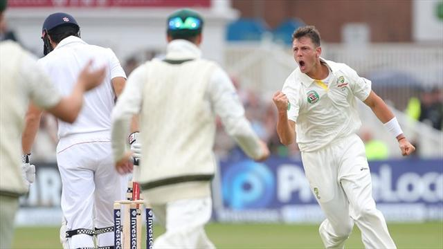 Cricket - Cook departs early on