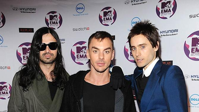 Seconds To Mars MTV European Music Awards