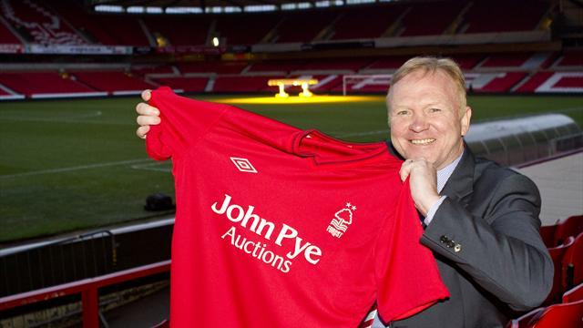 Football - McLeish surprised at Forest call