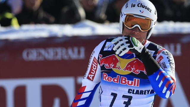 Alpine Skiing - Clarey to have back surgery and miss Schladming