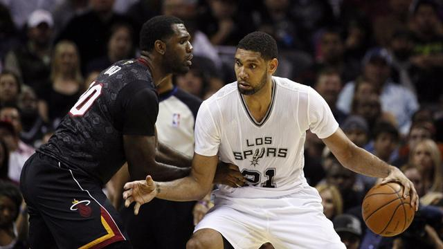 Basketball - Age no barrier for Spurs in win over Heat