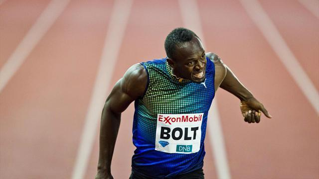 Athletics - Bolt roars to Oslo victory as British pair win