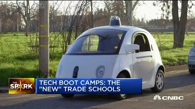 Tech boot camps: The 'new' trade schools