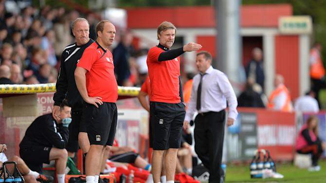 Soccer - Sky Bet League One - Stevenage v Coventry City - Lamex Stadium