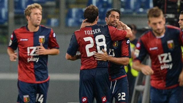 Serie A - Borriello grabs point for Genoa against Palermo