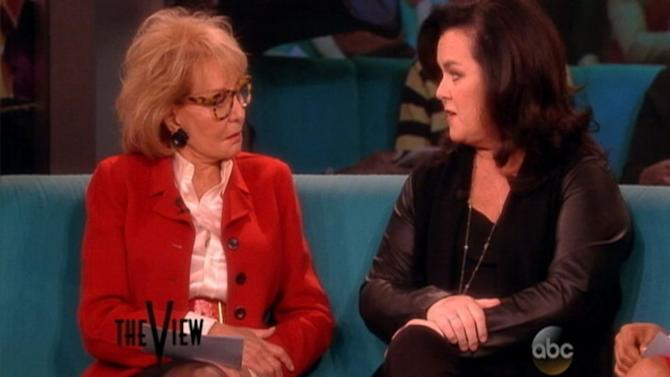 Rosie O'Donnell Defends Dylan Farrow on 'The View'