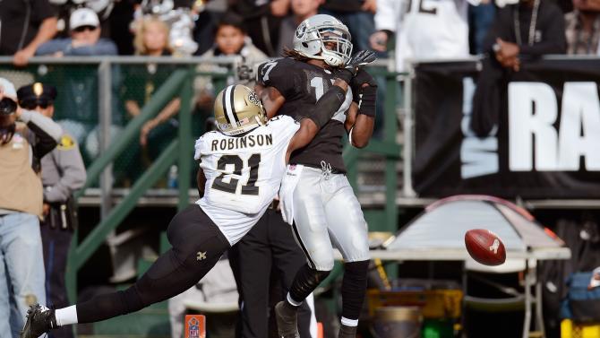 New Orleans Saints v Oakland Raiders