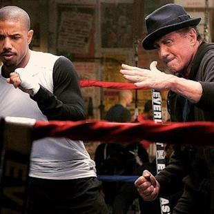 Sylvester Stallone Helps Michael B. Jordan Pack a Punch in First Trailer for 'Rocky' Spinoff 'Creed' (Video)