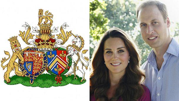 Prince William and Kate's Joint Royal Coat of Arms Unveiled