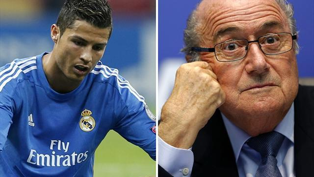 Liga - Blatter: I don't have a problem with Ronaldo