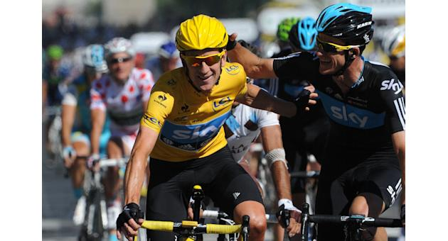 Bradley Wiggins was granted a therapeutic use exemption (TUE) to take the triamcinolone, weeks before he went on to win the 2012 Tour de France (AFP Photo/Pascal Pavani)