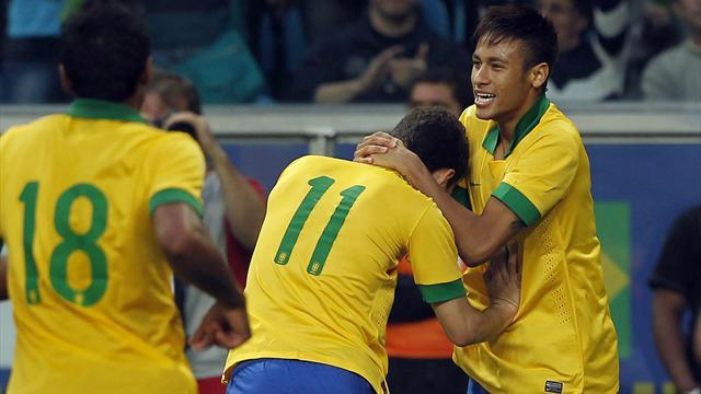 World Cup - Brazil back in FIFA's top 10 as England slide out