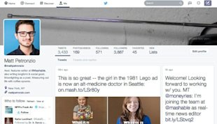 Twitter is Testing a Facebook Inspired Profile Redesign image twitter profile redesign