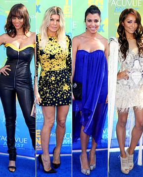 Worst Dressed Stars at 2011 Teen Choice Awards
