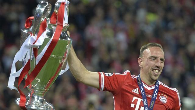 Champions League - Ribery beats Messi and Ronaldo to UEFA prize