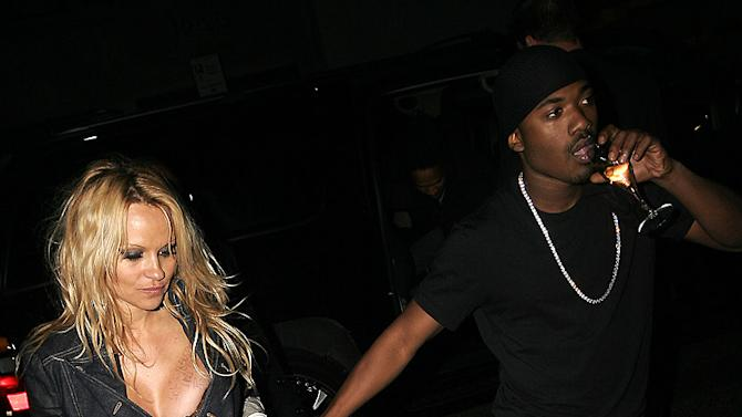 Pam Anderson, Ray J