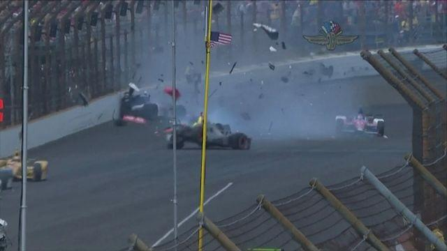 High-speed carnage at Indianapolis 500