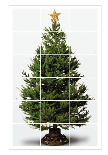 hp printable tree Space-saving Christmas tree alternatives