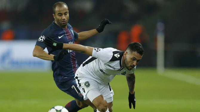 Football Soccer - Paris St Germain v  PFC Ludogorets - UEFA Champions League Group A - Parc des Princers, Paris