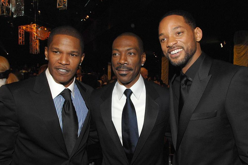 Jamie Foxx Eddie Murphy Will Smith 2007