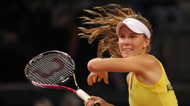 Australia's Olivia Rogowska Returns AFP/Getty Images