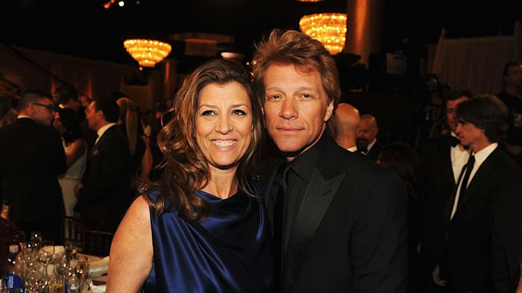 70th Annual Golden Globe Awards - Cocktail Party: Jon Bon Jovi