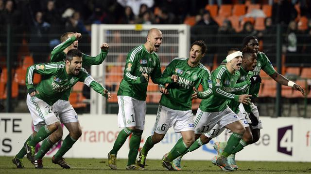 Ligue 1 - St Etienne edge Lille to reach final
