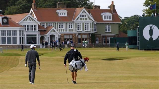 The Open Championship - Tee times